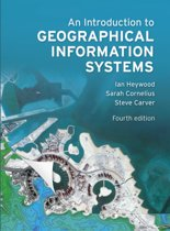 Afbeelding van An Introduction to Geographical Information Systems