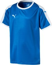 Puma Liga  Sportshirt - Maat 164  - Unisex - blauw/wit