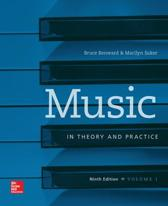Music in Theory and Practice, Volume 1