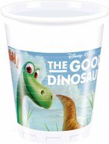 The Good Dinosaur Bekers Karton 200ml 8 stuks