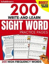 200 Write-And-Learn Sight Word Practice Pages