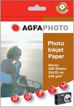AgfaPhoto Photo Glans  - Fotopapier 210 g 10x15 cm 100 vel