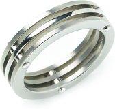 Boccia Titanium 0124-01 Ring - Titanium - Zilverkleurig