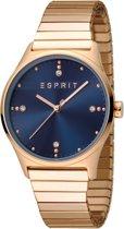 Esprit ES1L032E0085 VinRose Horloge - Staal - Rosékleurig - Ø 34 mm