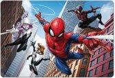 3D placemat Spiderman