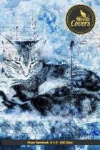 Meow Covers Plain Notebook- 6 X 9 - 100 Sites