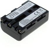 OTB Camera accu compatibel met Sony NP-FM30, NP-FM55H, NP-FM50 en NP-QM51 - 1300 mAh