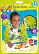 Crayola Mini Kids - Verfschort lange mouw