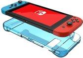 Shop4 - Nintendo Switch - Harde Bescherm Case Blauw