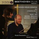 Beethoven Plus, Vol. 1: Violin Sonatas plus companion pieces