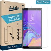 Just in Case Tempered Glass Samsung Galaxy A7 2018 Protector - Arc Edges