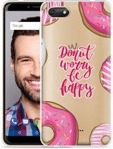 Wiko Harry 2 Hoesje Donut Worry