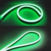 LED Neon Flex Micro Groen 1 meter 8mm x 16mm - Funnylights