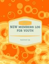 Youth Ministry New Members Log