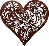 Hart barok hangend 32 cm