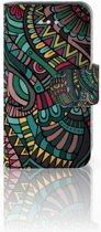 Apple iPhone 4 | 4S Boekhoesje Design Aztec
