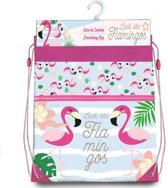 Flamingo Look Like Flamingos - Gymbag - 42 x 36 cm - Multi