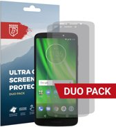 Rosso Motorola Moto G6 Play Ultra Clear Screen Protector Duo Pack