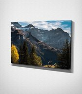 Mountains Canvascanvas | 45x30 cm