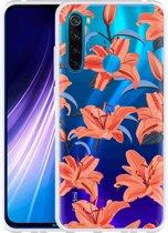 Xiaomi Redmi Note 8 Hoesje Flowers