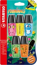 STABILO BOSS MINI Funnimals - Blister 5 stuks