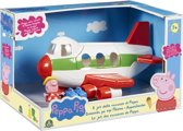 Peppa Pig op vakantie - Het vliegtuig van Peppa met 1 speelfiguur