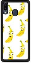 Huawei Y6 2019 Hardcase hoesje Happy Banaan