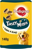 Pedigree Tasty Minis Cheesy Bites - Hondensnack - 140 g