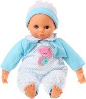 Falca Babypop 38 Cm Meisjes Blauw