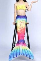 Zeemeerminstaart met bikini Disco maat 150   Zonder monovin   Besteld vóór 15u? Woon je in Nederland? Dan levering volgende werkdag!