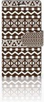 LG Spirit Uniek Boekhoesje Aztec Brown