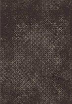 Grijs/bruin tapijt met vintagelook - 160 x 220 cm
