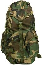 Fostex rugzak Recon Woodland 35 liter - camouflage Groen - Bruin