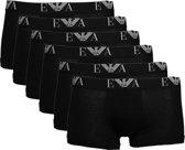 Emporio Armani 6-pack boxershorts trunk - zwart