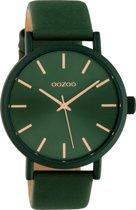 OOZOO Timepieces Groen horloge  (42 mm) - Groen