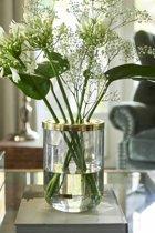 Riviera Maison Rivièra Maison Flower Styling Vase - Vaas - Glas/Metaal