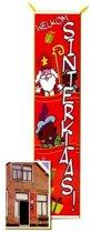 Grote Sinterklaas banner 206 cm