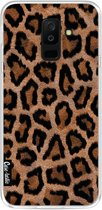 Casetastic Softcover Samsung Galaxy A6 Plus (2018) - Leopard