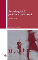 Boek cover Praktijkgericht juridisch onderzoek van Geertje van Schaaijk (Hardcover)