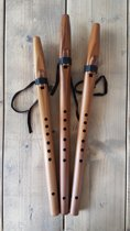 Stellar Flutes Basic Native American Fluit (A, G, F#) - Cederhout A