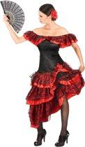 Elegante flamenco danseres outfit voor vrouwen - Volwassenen kostuums