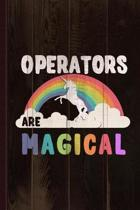 Operators Are Magical Journal Notebook
