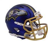 Riddell Speed Mini BLAZE Alt Ravens American Football Helm