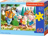 Three Little Pigs puzzel 60 stukjes