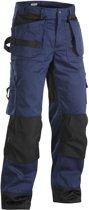 Blaklader Werkbroeken met kniestukken Marineblauw/ZwartNL:62 BE:56