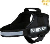 Julius K9 IDC Powertuig/Harnas - Maat 0/58-76cm - M - Zwart