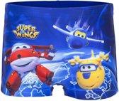 Zwembroek van Super Wings maat 98/104 - blauw