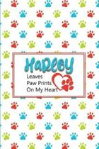 Harley Leaves Paw Prints on My Heart