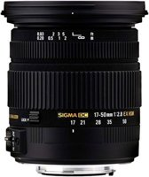 Sigma 17-50mm - f/2.8 EX DC OS HSM - geschikt voor Canon