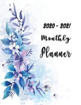 2020-2021 Monthly Planner: 2 Years Planner Calendar Personalized January 2020 up to December 2021 Contains extra lined pages to record notes Cove